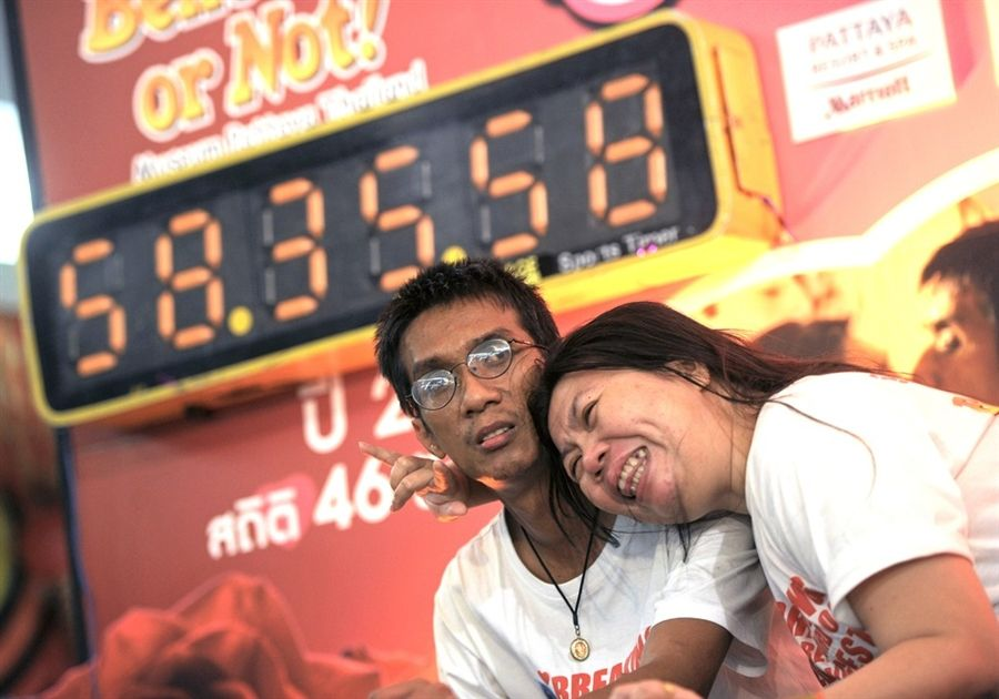 The World Record for the Longest Kiss