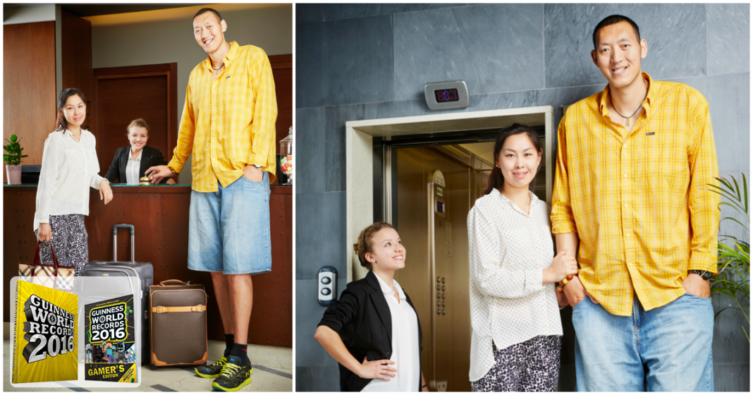 The Tallest Married Couple in the World