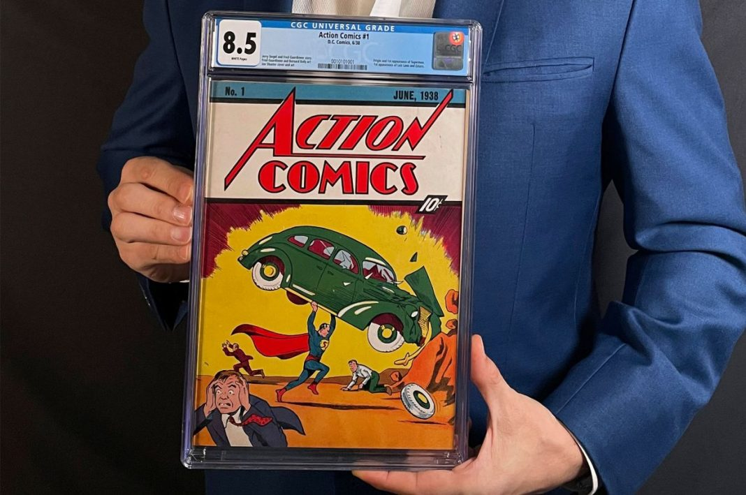 The Most Expensive Comic Book Ever Sold