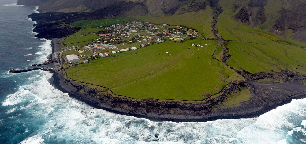 The most isolated place on Earth is Tristan de Cunha.
